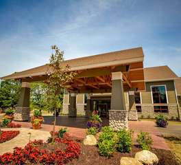 Nor-son construction Grand view lodge North Hotel boutique hotel construction hotel exterior design