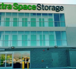 North american signs extra space storage exterior signage