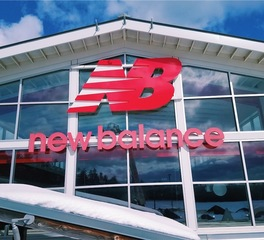 north american signs new balance exterior signs