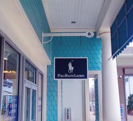 North american signs polo ralph lauren retail signage