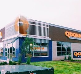 North american signs qdoba mexican grill signage storefront