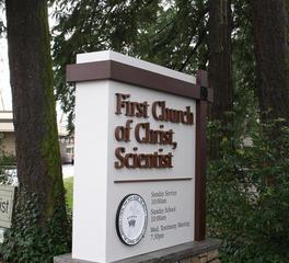 Northwest Sign & Design - First Church of Christ, Scientist