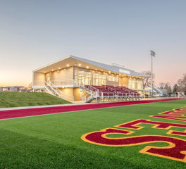NSU Athletic and Recreation Fields Complex Sports CO-OP Architecture