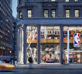 OCL Architectural Lighting New York NBA Store