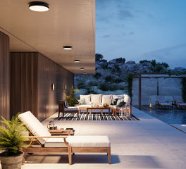 OCL Architectural Lighting Outdoor Hospitality Area
