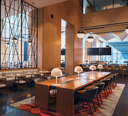 OCL Architectural Lighting Restaurant Seating Bar Area