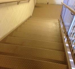Pacific stair checker-plate-stairs-landings 1