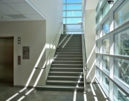 Pacific stair concrete filled stairs landings