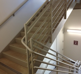 Pacific stair corporation pipe rail 200 5