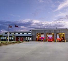 Parkhill Smith & Cooper PSC Midland Fire Station 6 City of Midland Texas Exterior