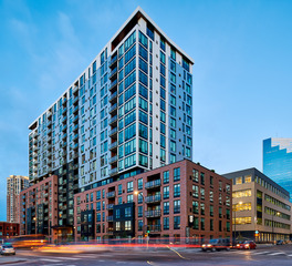 Pella Windows and Doors HQ Apartments Housing Exterior Design