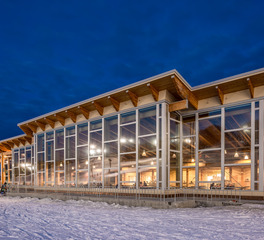 Pella Windows and Doors Hyland Ski Chalet Window Design