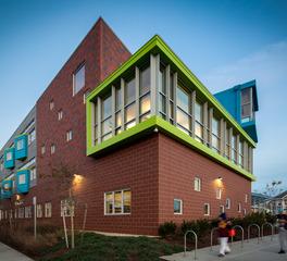 Pella Windows and Doors Irwin M. Jacobs Elementary School Exterior Brick Finish and Design
