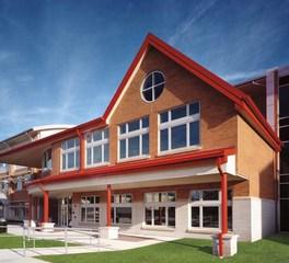 Pella Windows and Doors Midtown Community Elementary School Exterior Colors Design