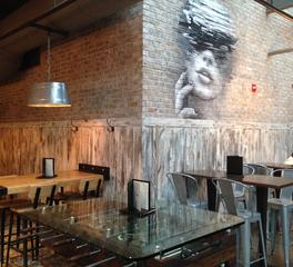 Pioneer Millworks Raised Bar Interior Amerian Prarie Paneling 1