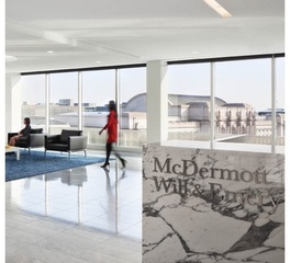 Price Modern McDermott Will & Emery Office Furniture Washington DC Reception Area