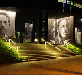 Pulse Products Guthrie Theater Outdoor Public Spaces Lighting