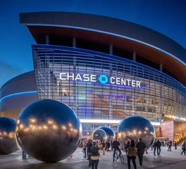 Pure + FreeForm Chase Center Custom Woodgrains Exterior Design