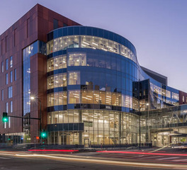 Pure + FreeForm Hennepin County Medical Center Exterior Medal Cladding