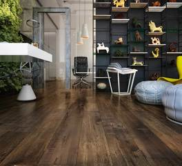 Republic floor Fortress laminate flooring pecan