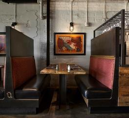 Restaurant interior seating designs
