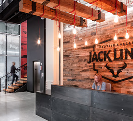 RSP Architects Jack Links Corporate HQ Minneapolis Minnesota Office Reception Area Design