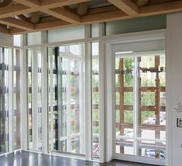 Safti first aspen art museum curtain wall system