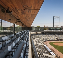 Snow kreilich architects chs field exterior 4