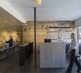 Snow kreilich architects victors on water reception area