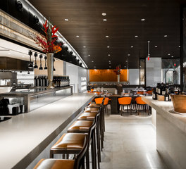 Soundply by navy island ravello restaurant black lacqur alta ceiling panels