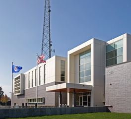 Stahl Construction Emergency Communications Facility Hennepin County Exterior