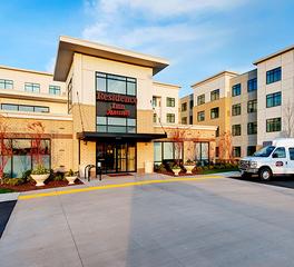 Stahl Construction Hospitality Design Residence Inn by Marriott Exterior Facade and Sign