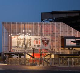 Structura Audi Stadium DC United Stadium Washington DC Stadium Exterior Design