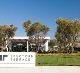Structura Spectrum Terrace Irvine California Exterior Monument Sign