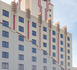 Structura Tulsa Hard Rock Casino Building Sign Outdoor Lighting