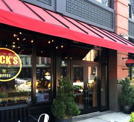 studio robert jamieson Jack's Stir Brew Coffee exterior