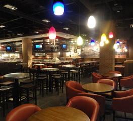 TGI Fridays Dining Area