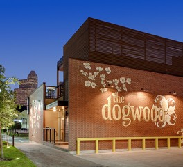 The Dogwood Midtown Bar Restaurant Element 5 Architecture Exterior Mural