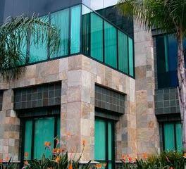 Thorntree Slate Commercial Outdoor Corner Windows