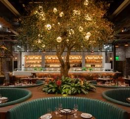 Tivoli lighting Catch Restaurant