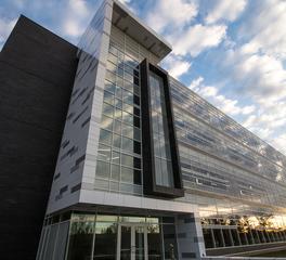 Tube Lite MSU Bio Engineering Facility Exterior Street View