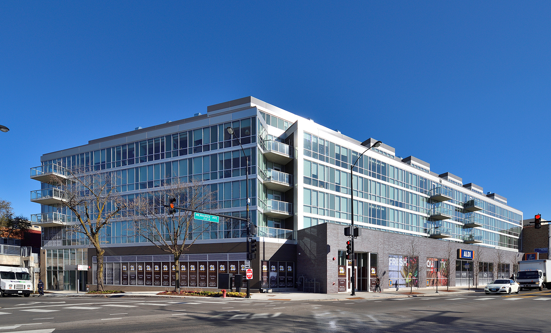 Tubelite Centrum Bucktown exterior design windowwall