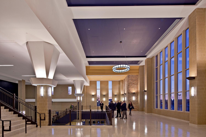 Tubelite Compton Family Ice Arena Interior