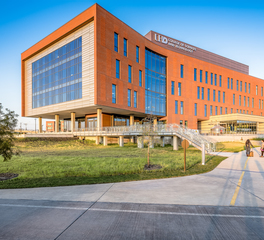 UHD Science and Technology Building Full View