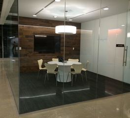 Urban Woods Company The Richards Group Mini Conference Room Wall Paneling