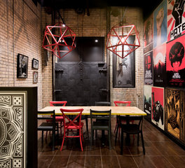 Vela Creative Byte Restaurant Interior Design
