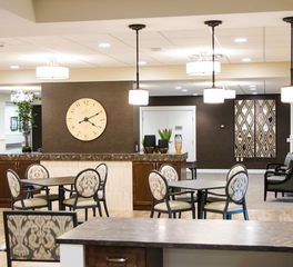W. Gohman Construction Cerenity Marian St. Paul MN Senior Care Common Area