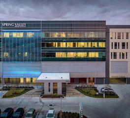 Wade Architectural Systems Spring Valley Medical Center Metal Exterior Facade Design Front View