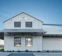 Wade Architectural Systems The Cotton Gin at the CO-OP District Metal Exterior Facade Design Front View Centria BR5-36 Econolap