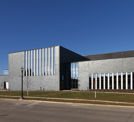 Wells Concrete Austin Community Recreation Center Exterior Brick Design